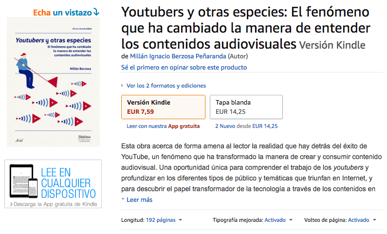 Youtubers y otras especies - Amazon